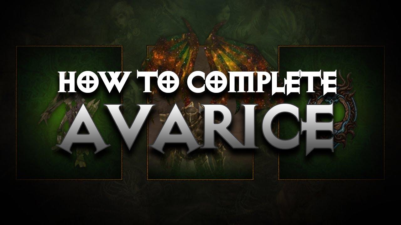 Diablo 3 - How To Finish Avarice Conquest In Season 17 - PWilhelm