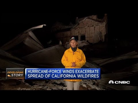 Here's How Californians Are Reacting To The Wildfires And Power Outages