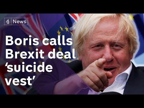 Boris Johnson attacks Theresa May's Brexit plans