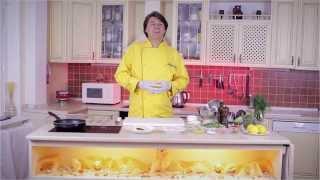 Салат с криветками и грчично медовым соусом, гость Генри Мадава. Жизненные рецепты