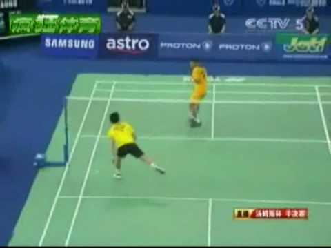 Lin Dan Vs Lee Chong Wei - Badminton 2010 Thomas cup