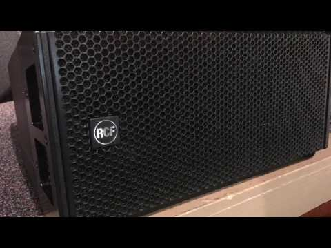 RCF HDL-6A active line array module review. (Authorized Dealers)