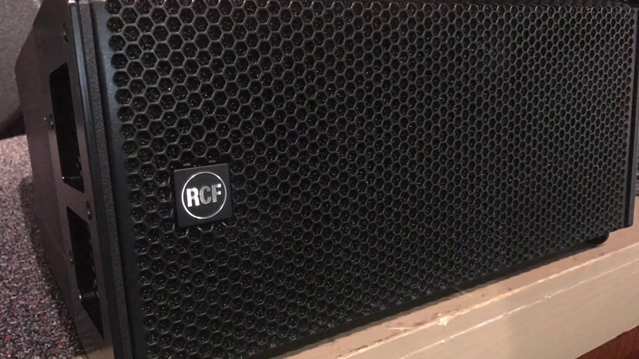 RCF HDL-6A active line array module review  (Authorized Dealers)