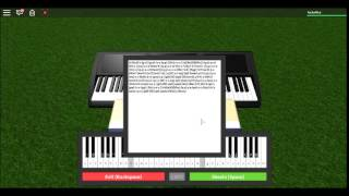 ROBLOX - Virtual Piano - Can You Feel the Love Tonight