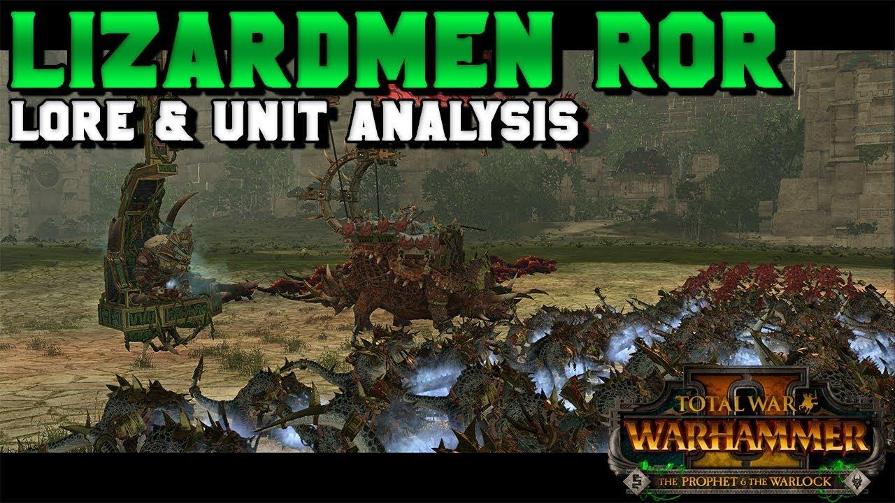NEW Lizardmen Regiments of Renown: Lore Breakdown & Unit Analysis | Total  War: Warhammer 2