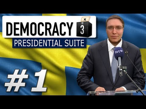 Democracy 3: Presidential Suite | Sweden  - Year 1
