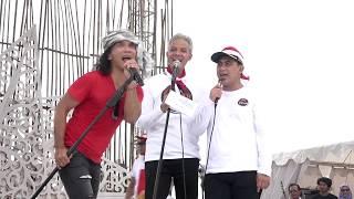 Download lagu Ku Tak Bisa - Slank ft Gubernur Jateng Live Simpang Lima Semarang Kita Merah Putih