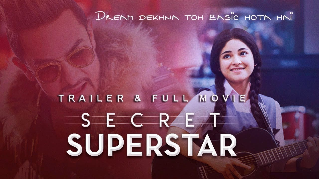 Download Secret Superstar 2017 | Trailer & Full Movie Subtitle Indonesia | Amir Khan | Zaira Wasim