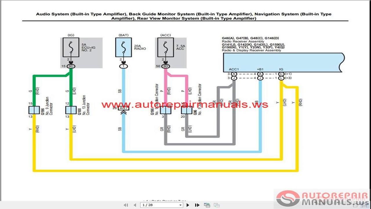 Toyota RAV4 - manual, wiring diagram (2012-2018) - YouTubeYouTube