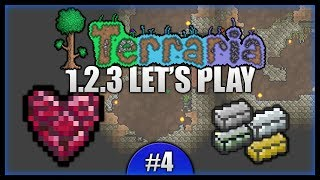 Mini Mining Expedition! Armour Upgrades! || Let's Play Terraria 1.2.3 [episode 4]