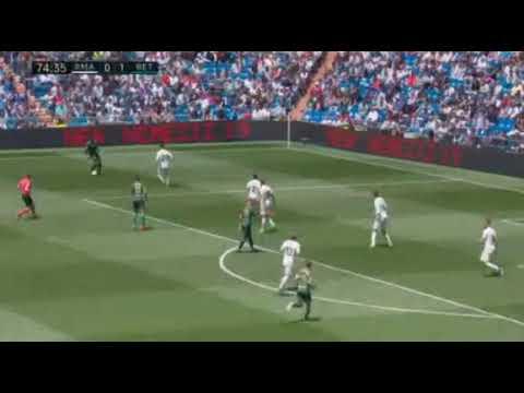 Реал Мадрид - Бетис. 0-2 гол Хесе.19 мая 2019