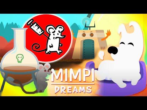 Лаборатория #2 Супер Пес Мимпи Прохождение Mimpi Dreams игра мультик про белую собачку для детей