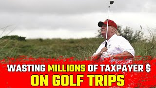 How Much Are You Paying for Trump to Golf? #LiningHisPockets • BRAVE NEW FILMS
