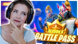 SEASON 5 ALL BATTLE PASS TIERS UNLOCKED! + FIRST IMPRESSIONS (Fortnite: Battle Royale) | KittyPlays