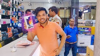 BUYING GALAXY A50 From CROMA !! KALA SHER 🇮🇳🔥 #VLOG