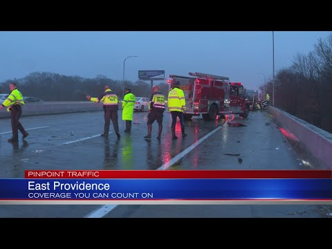 I-195 East Congested Through East Providence Due To Crash