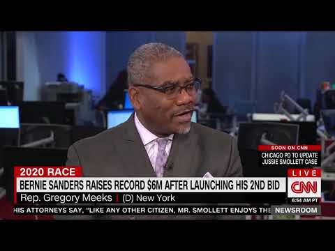 Meeks (D) Hits Sanders for Not Being a Democrat: I Want my Presidential Nominee to Be a Democrat
