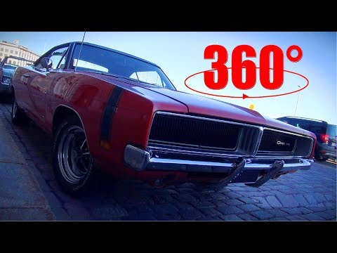 Epic V8 Sounds and Cars of HELSINKI CRUISING NIGHT 6/2017 - 360 4K video