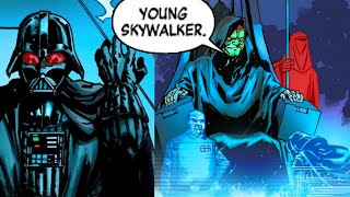 When Palpatine Demoted Darth Vader back to Anakin Skywalker(Canon) - Star Wars Comics Explained