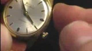 Armbandwecker Bulova 11AERC Wristalarm