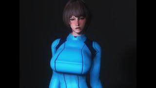 lovehappy.net - samus zero suit clothes skyrim mod
