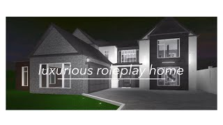 Roblox: Welcome to Bloxburg | Luxurious Roleplay Home | 80K |