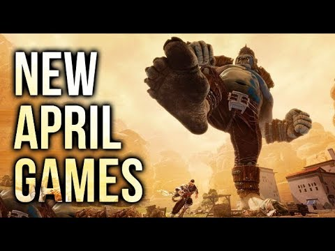 Top 10 NEW APRIL Games Of 2018