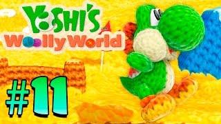 #11 De paseo con Poochy   Yoshi Woolly World