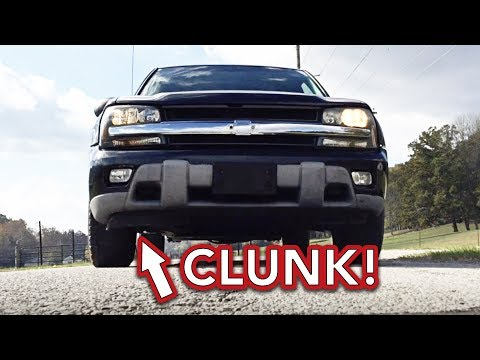 Trailblazer front end clunk noise - Easy Fix - Clunking