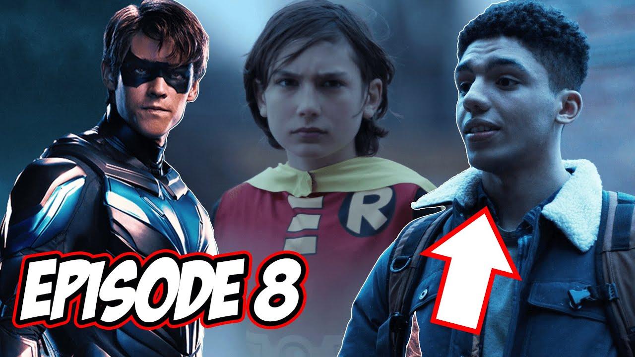 "Download Titans Season 3 Episode 8 Review & Breakdown   ""Home""   New Robin Origins & Crazy Ending!"