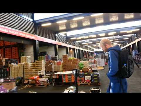Blochairn Fruit Market, Glasgow- Fruit Shopping At Blochairn Fruit Market Glasgow