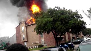 Eagle crest apt. fire