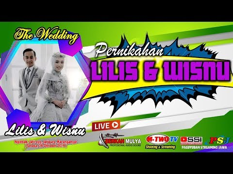 🔴📡LIVE // Sesion 2 // M-Two Tv// Wedding Lilis & Wisnu // Nglebak, 08Okt 2019