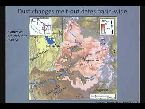 Beetles, Dust and Climate Change: Changing Hydrology in the Colorado River Headwaters