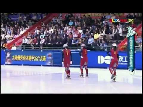 china short track gold medalist Technical demonstration(slow-motion version).mp4