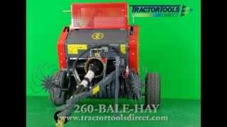 Abbriata M50 Mini Round Hay Baler Thumbnail