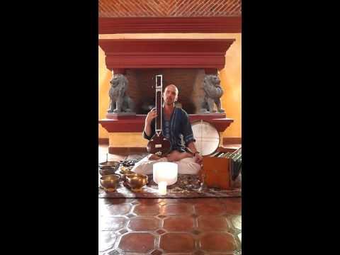overtone singing and tanpura sound meditation Billy White