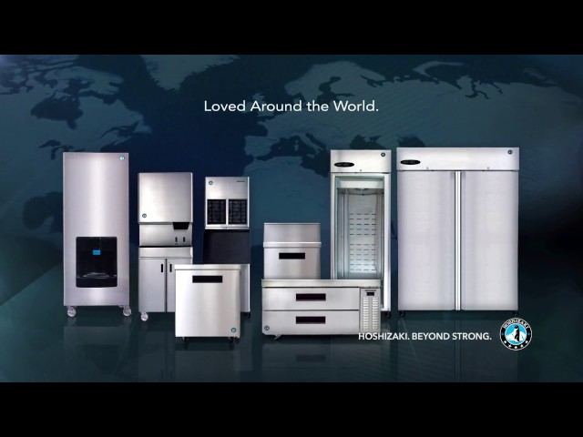 Hoshizaki. Beyond Strong. Commercial Ice Machines and Refrigeration.