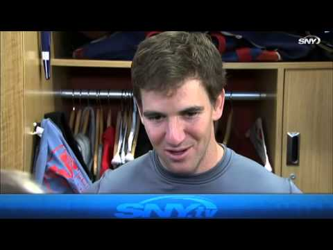 Eli Manning talks Giants future and Tiki Barber comments