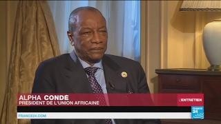 Alpha Condé à France 24 :