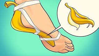Das passiert mit deinem Körper, wenn du ihn mit Bananenschalen einreibst