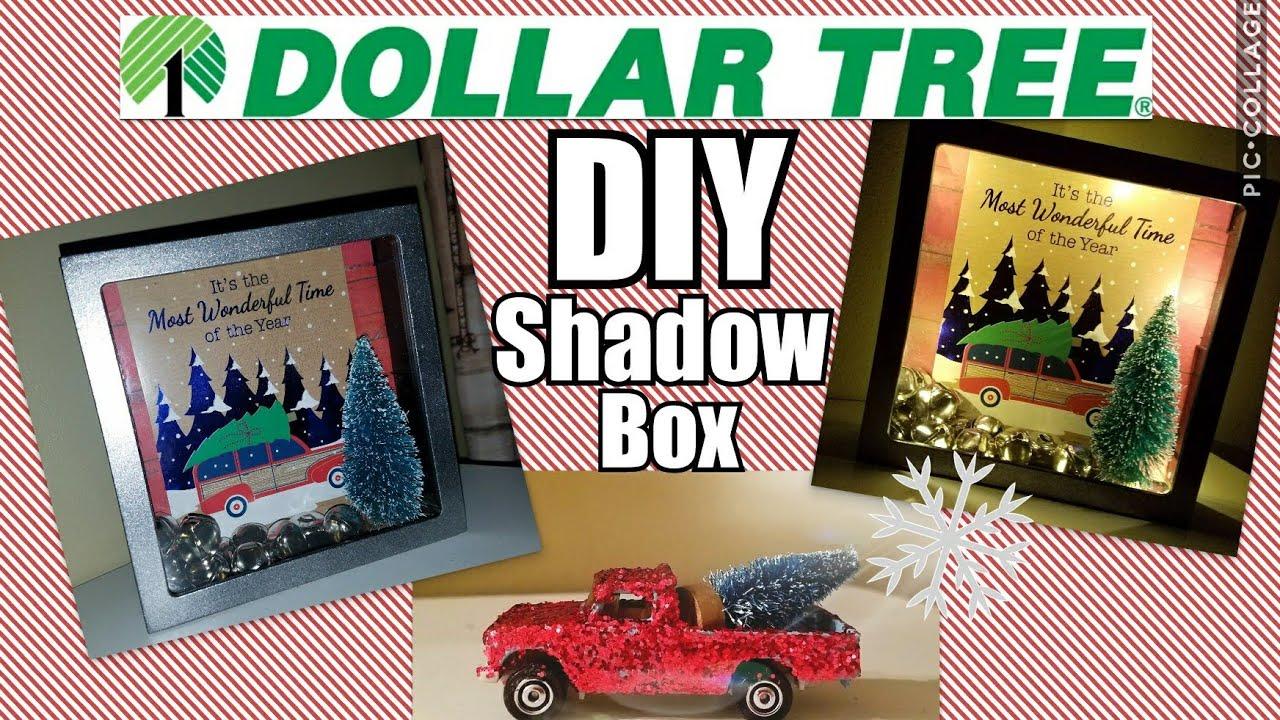 Dollar Tree Diy Shadow Box Youtube