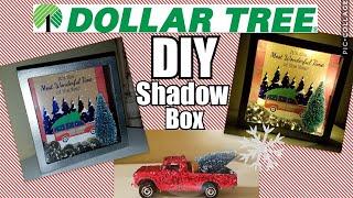 Dollar Tree DIY~Shadow box