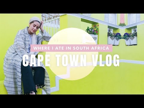 Cape Town: All The Eats That I Ate (شنو كليت في كيب تاون (جنوب افريقيا