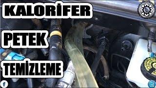 Otomobil Kalorifer Peteği Temizleme
