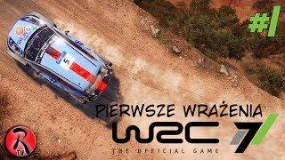 Zagrajmy w WRC 7 PL #1 - Pierwsze wrażenia, nauka jazdy [PREMIERA][GAMEPLAY PL][60FPS]