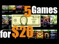 5 Games For $20- Best Games From Xbox Backwards Compatible Sale