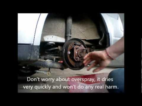 DIY: Cleaning Squeaky Brake Drums