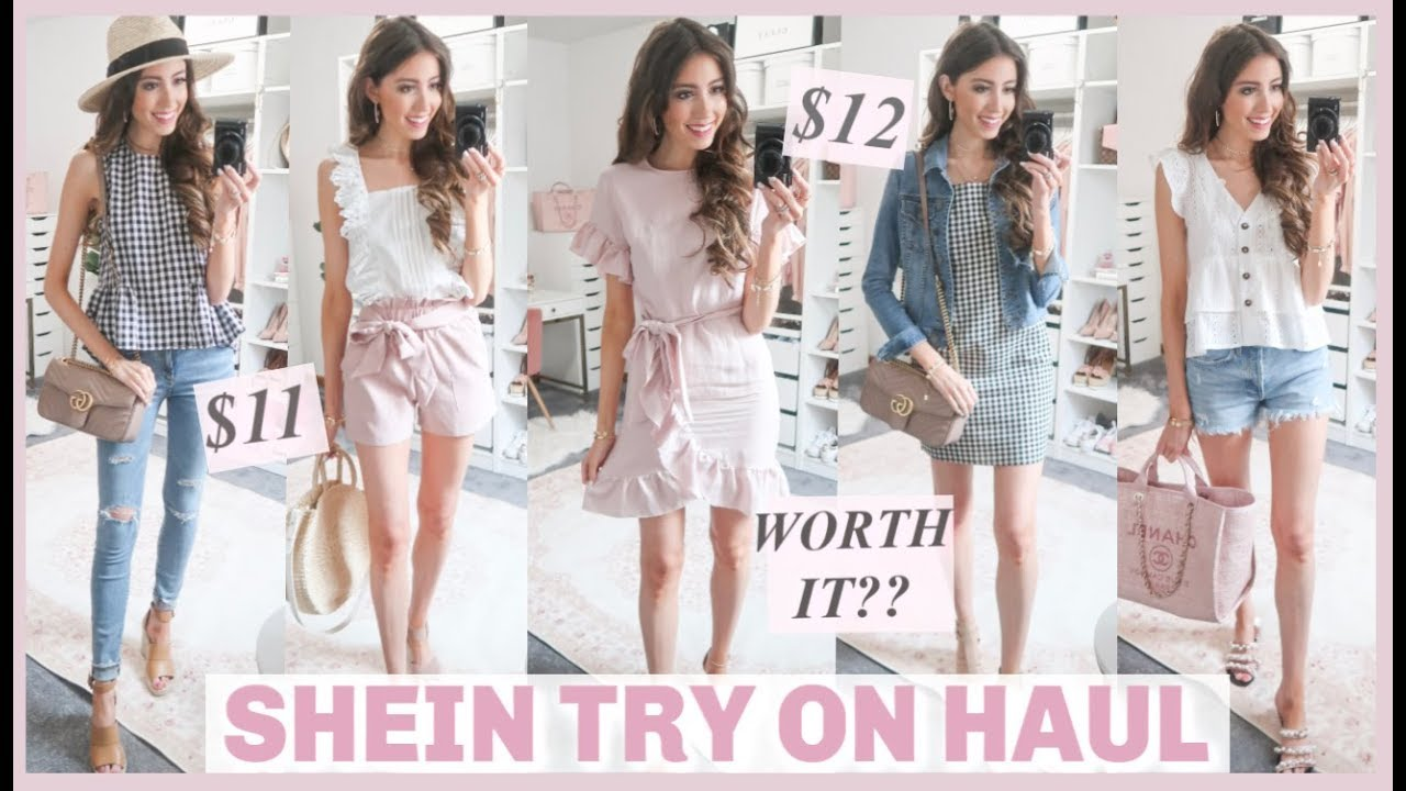 e76d4215c3 HUGE SHEIN TRY ON HAUL 2019 + REVIEW | IS IT WORTH IT?! | AFFORDABLE ...