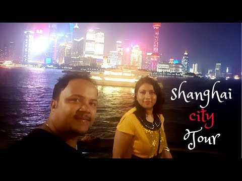 Shanghai city tour with Big Bus & The Bund Tour 2017 (Full HD) || CHINA BLOG